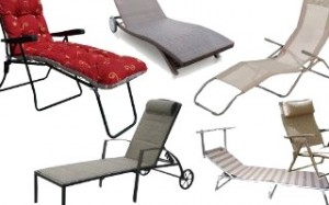 Metal Loungers