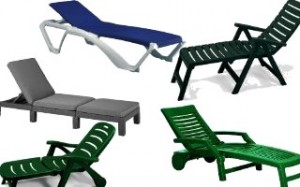 Plastic Loungers