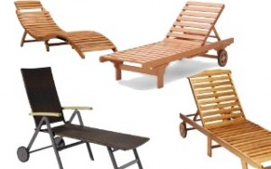 Wooden Loungers