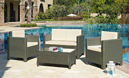 4-Piece Lounge Set